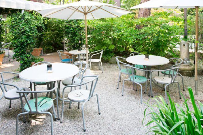 Area Relax Giardino Hotel Villa Rosa Cesenatico