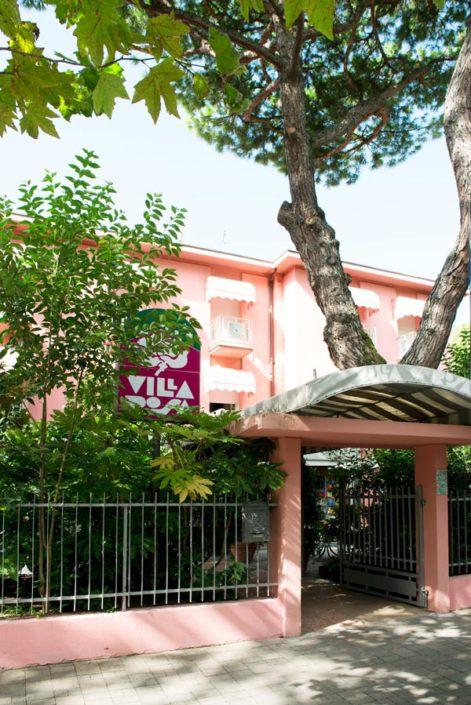 Ingresso Hotel Villa Rosa Cesenatico