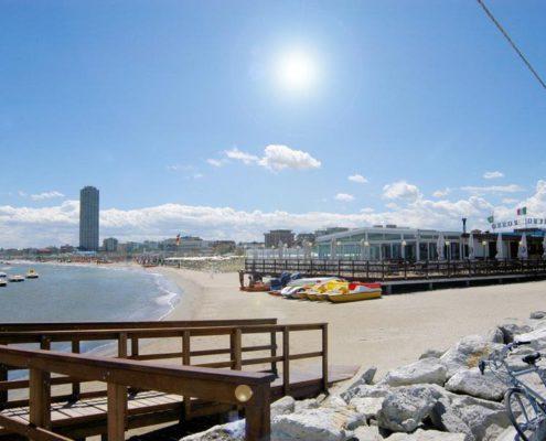 Spiaggia di Cesenatico Hotel Villa Rosa