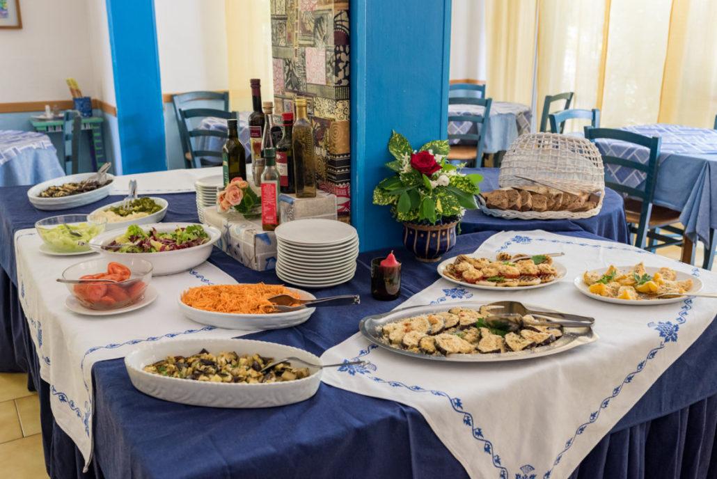 Ristorante Hotel Villa Rosa cucina tradizionale