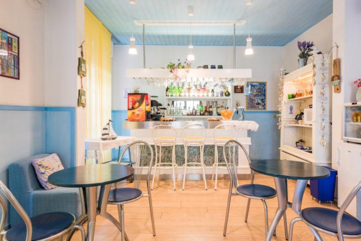 Bar Hotel Villa Rosa Cesenatico sul mare
